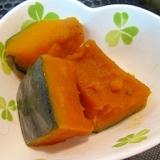 冷凍かぼちゃde煮物
