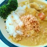 ひきわり納豆カレー