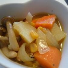 常備野菜を使って☆野菜のコンソメ煮
