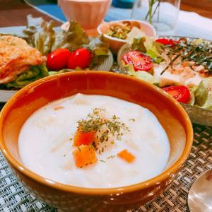 根野菜たっぷり♡ミルクスープ