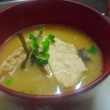 鯛のあらの味噌汁