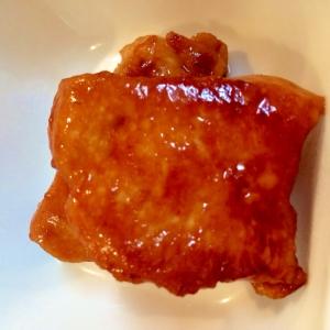 お弁当にも♪パサパサしない鶏胸肉のしょうゆ焼き