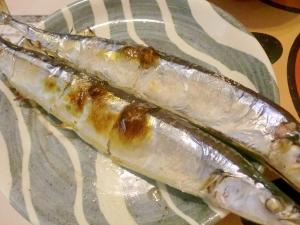 旬の秋刀魚焼き 柚子胡椒×塩麹