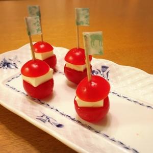 パーティーに☆トマト&クリチのピンチョス