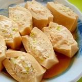 高野豆腐のひき肉詰め煮