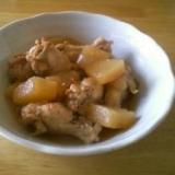 めんつゆで作る!骨つき鶏肉のさっぱり煮