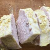 ヨーグルトとカレー粉で鶏ハム