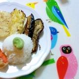 たっぷり野菜と鮭のグリルプレート