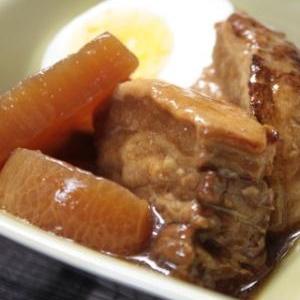濃厚な味わいでほろほろ食感!「豚の角煮」献立