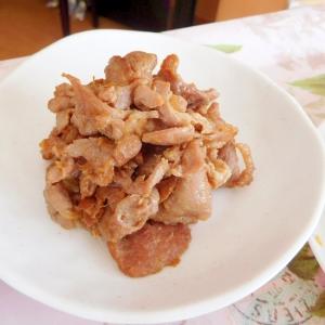 豚肩ロースの生姜焼き