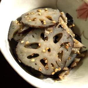 れんこんの柚子胡椒きんぴら