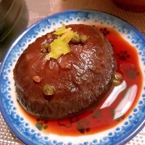 実山椒風味がはじける干し椎茸の甘辛煮