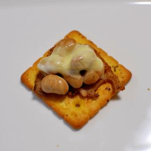 れんこん&大豆煮豆&チーズdeクラッカー