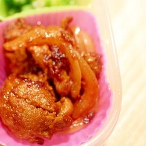 【作り置きおかず】薄切りラム肉でカレー粉香る肉団子