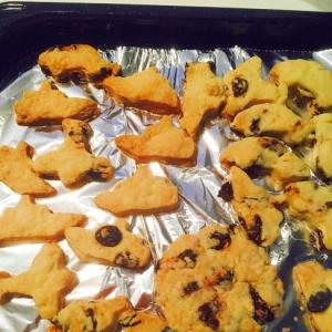 幼児食にも☆オリゴ糖とレーズン入りの優しいクッキー