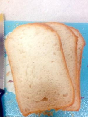 HBで  甘すぎない減塩食パン