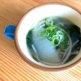 簡単ヘルシー☆白菜もやしスープ