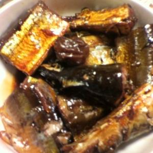 圧力鍋で骨まで食べれる☆秋刀魚の梅煮