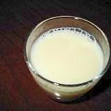 焼酎の豆乳リンゴジュース割り