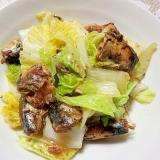 さんま缶と白菜の簡単煮