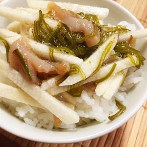 ナガイモ入りネバネバ海鮮丼