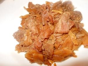圧力鍋で時短 ★牛肉と牛蒡の甘辛煮★