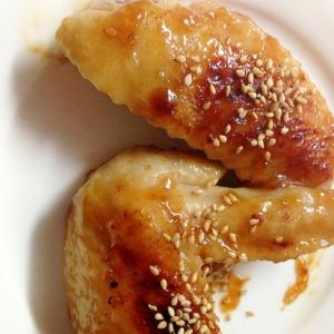 鶏手羽の豆板醤味噌焼き