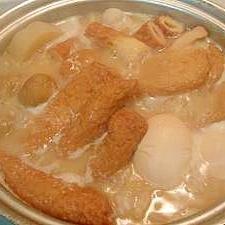 味噌おでん 圧力鍋使用
