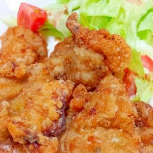 ジューシ~♡鶏の竜田揚げ☺