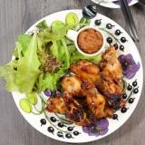 鶏手羽元のオーブン焼き・BBQソース。
