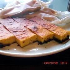 超簡単!混ぜて焼くだけハロウィンチーズケーキ。