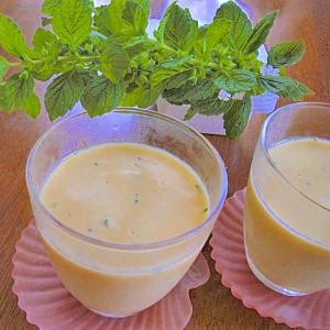 冷たい豆乳で作るコーンポタージュゼリー