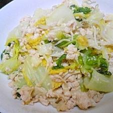 塩麹でサッパリ野菜炒め