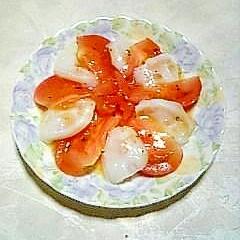☆生タコとトマトのカルパッチョ☆