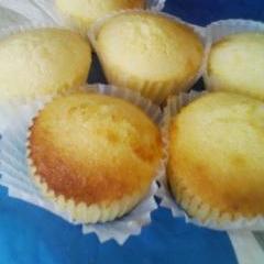 バター不使用★米粉のプレーン・マフィン