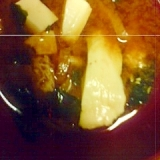 筍と豆腐の味噌汁