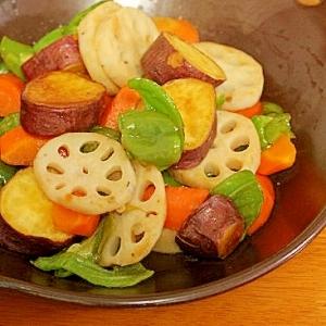野菜の甘酢炒め