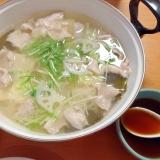 湯豆腐☆豚肉入り
