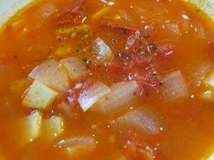 完熟トマトスープ