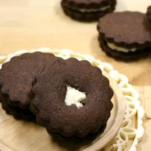 ブラックココアdeほろほろ♪ソフトクッキー