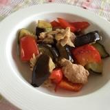 お手軽簡単⭐︎茄子とツナの前菜