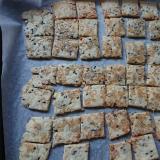 ビニール袋でズボラ生おからの簡単胡麻ざらめクッキー