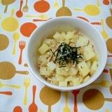 ポテトの納豆あえ(離乳食)