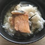 食欲のない朝に!鮭の出汁茶漬け