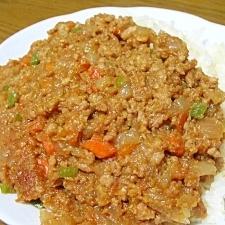 塩麹で簡単☆おからのヘルシードライカレー