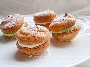 ふわっと軽い♪洋菓子用米粉で作るブッセ