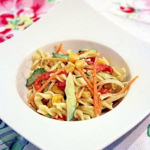 お野菜たっぷり☆マカロニサラダ♪