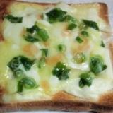 胡麻葱チーズトースト