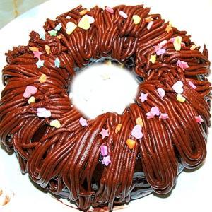 バレンタインに!チョコモンブラン風リングケーキ♪