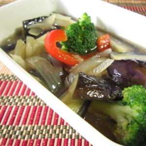 簡単☆温野菜の揚げ浸し